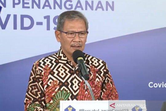 Yurianto: Pemerintah kaji opsi pemantauan orang di fasilitas umum
