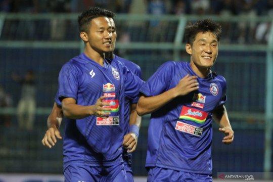 Arema FC setujui kelanjutan kompetisi dengan catatan khusus