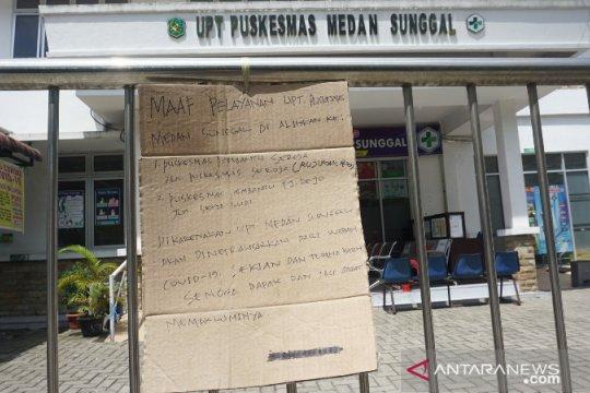 Bertambah, tiga Puskesmas di Medan ditutup karena dampak COVID-19