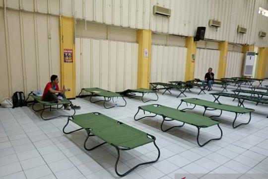 2 penghuni fasilitas karantina Gedung KONI telah jalani tes swab