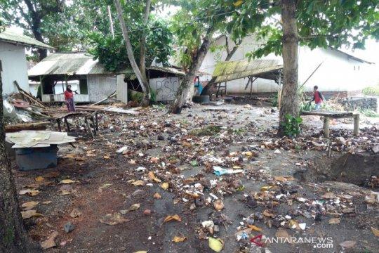Banjir rob melanda pesisir pantai di Tasikmalaya dan Pangandaran