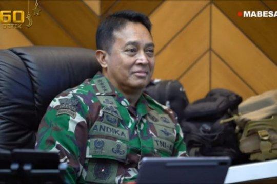 "Jenderal TNI Andika Perkasa ikuti ""teleconference"" simposium LANPAC"