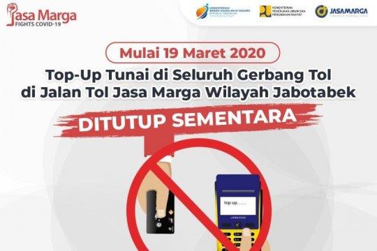 Jasa Marga hapus layanan isi ulang kartu di gerbang tol