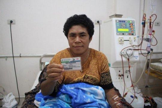 Maria puji pelayanan hemodialisa JKN-KIS sangat baik