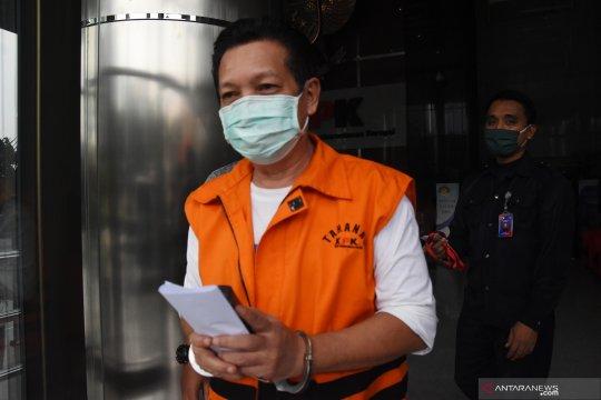 Pemeriksaan tersangka Ketua DPRD Muara Enim