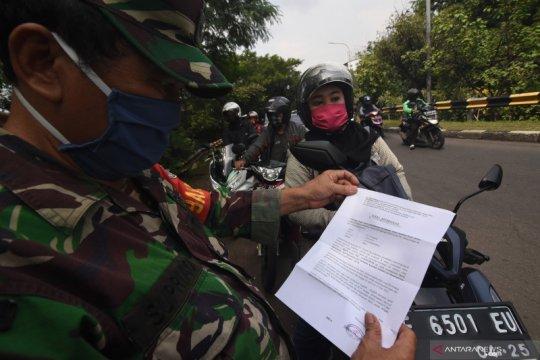 Pemeriksaan SIKM Jakarta di perbatasan wilayah