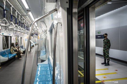 Stasiun MRT Bundaran HI kembali dibuka