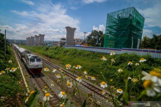Progres pembangunan proyek kereta cepat Jakarta-Bandung