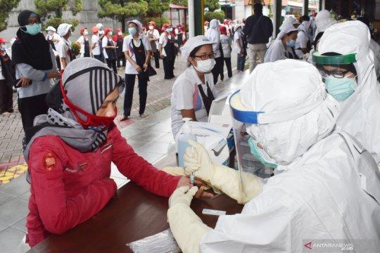 Sumatera Selatan siapkan 10 ribu alat tes cepat layanan drive thru