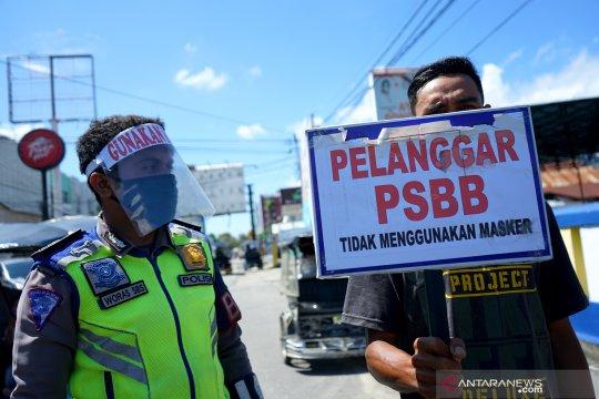 Nekad gelar aksi saat PSBB, empat pemuda diancam empat bulan penjara