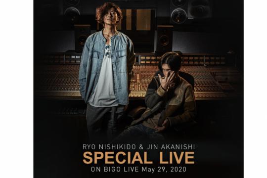 Jin Akanishi & Ryo Nishikido bakal sapa penggemar di Bigo Live, lusa