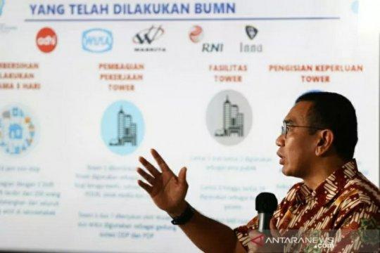 Kementerian BUMN sebut tiga skenario bantuan dana ke perusahaan negara