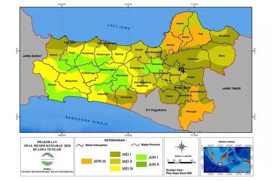 BMKG: Curah hujan di Banjarnegara rendah sepanjang Juni