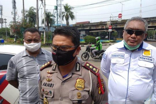 Polisi tetapkan sopir bajaj tersangka tabrakan dengan bus Transjakarta