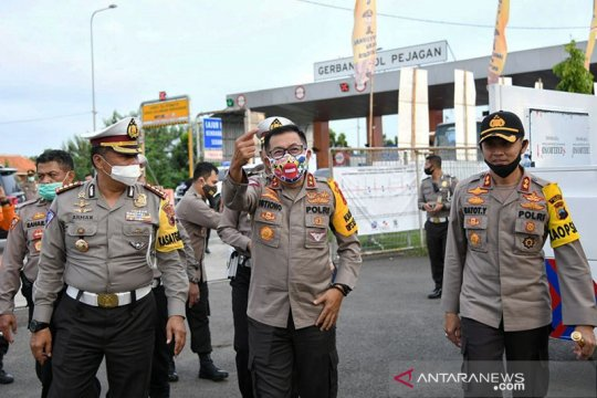 Kakorlantas: H+2 Lebaran 9.000 kendaraan menuju Jakarta diputar balik