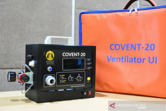 Adaro-UI distribusikan 100 ventilator COVENT-20 ke rumah sakit