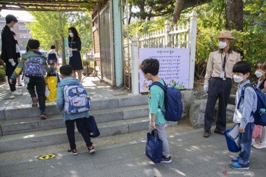 Pemerintah Korea Selatan buka sekolah kembali secara bertahap