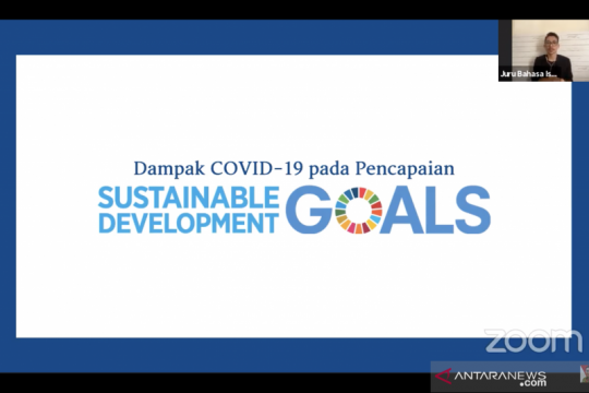 Pandemi COVID-19 jadi tantangan dalam  pencapaian SDGs