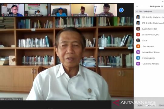 Anggota DPD: Jangan sampai ada orang Bali tidak makan