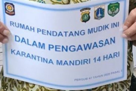 107 warga di Lenteng Agung jalani karantina mandiri