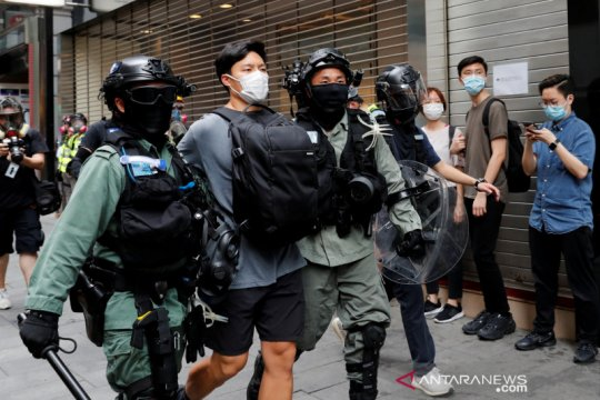 Hong Kong perbarui aturan peliputan, kartu pers tidak berlaku