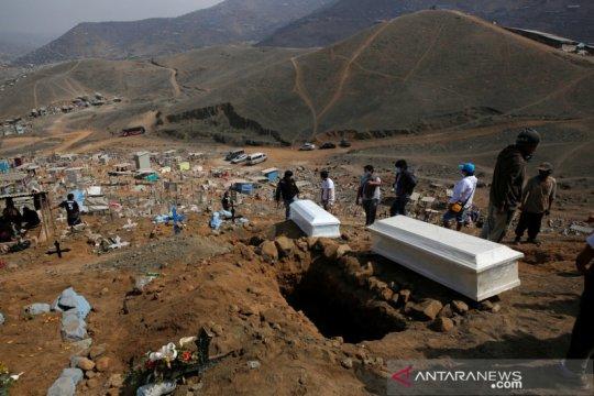 Tingkat kematian akibat  COVID-19 Peru kian menurun