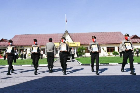 Lima personel Polres Aceh Timur dipecat