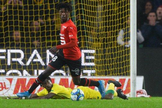 Eduardo Camavinga buka opsi perpanjang kontrak di Rennes