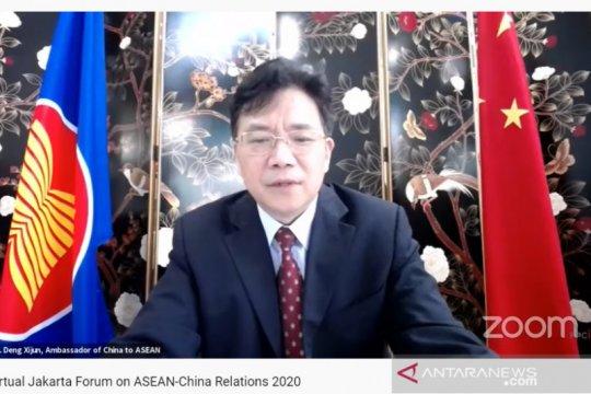 Di tengah krisis wabah, ASEAN jadi mitra dagang terbesar China