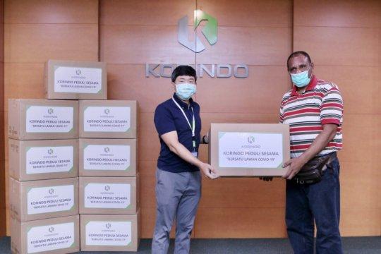 Ribuan APD dikirimkan ke Papua antisipasi peningkatan kasus COVID-19