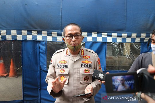 Polda Metro Jaya telah petakan titik pengamanan normal baru Jakarta