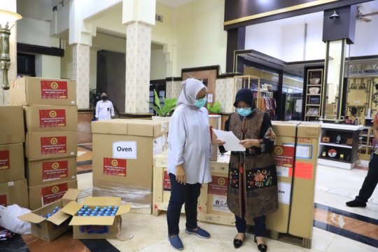 BIN bantu ribuan alkes dan APD untuk penanganan COVID-19 di Surabaya