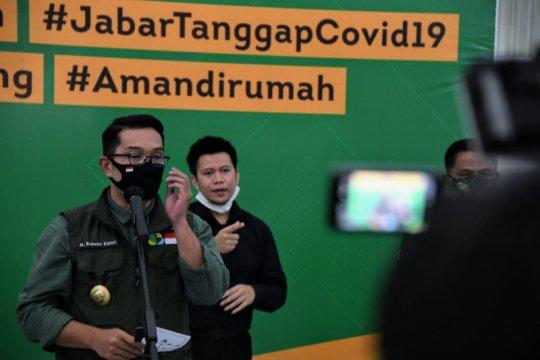 Ridwan Kamil: Jabar nol zona merah COVID-19