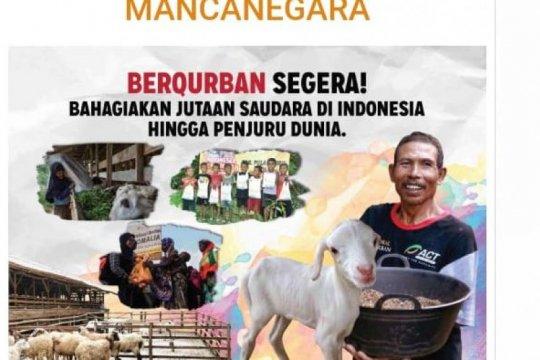 Global Qurban-ACT siap bagikan daging kurban