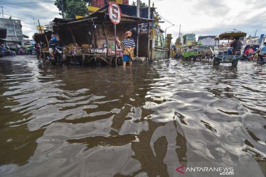 Banjir di Ampenan Mataram
