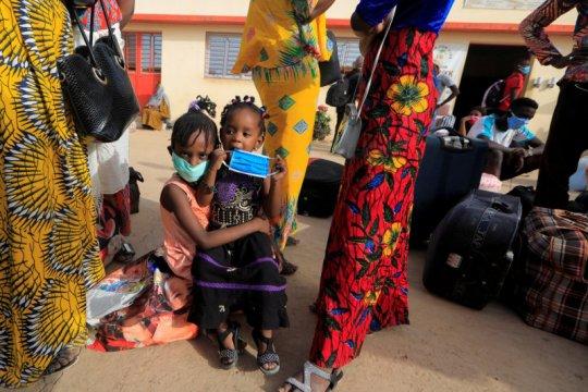 Demonstran di Senegal ricuh saat memprotes jam malam selama pandemi