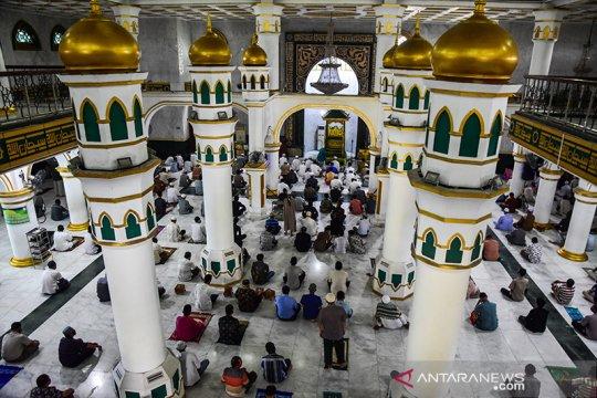 Masjid di Pekanbaru kembali dibuka dengan terapkan protokol kesehatan