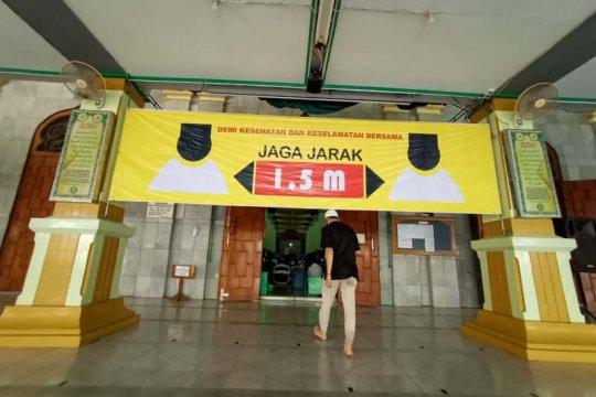 Masjid Agung Semarang gelar Shalat Jumat berprotokol kesehatan ketat