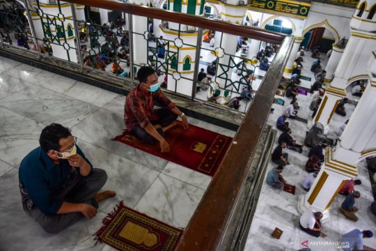 1.380 masjid dan mushala di Kota Pekanbaru segera dibuka