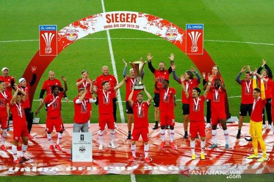 Salzburg juara Piala Austria tandai kelanjutan musim 2019/20