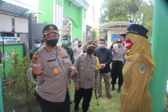 Polda Jatim tinjau kesiapan kampung tangguh di Kediri