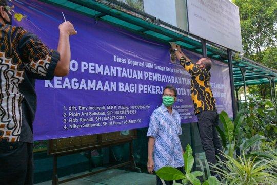 Dinas di Yogyakarta pantau pembayaran bertahap THR oleh perusahaan