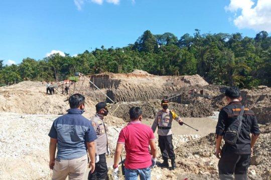 Polres Merangin tangkap enam penambang emas liar