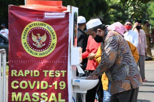 "BIN gelar ""rapid test"" massal zona merah Tangerang"