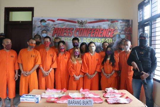 Polresta Denpasar tangkap pengedar narkotika asal Amerika Serikat