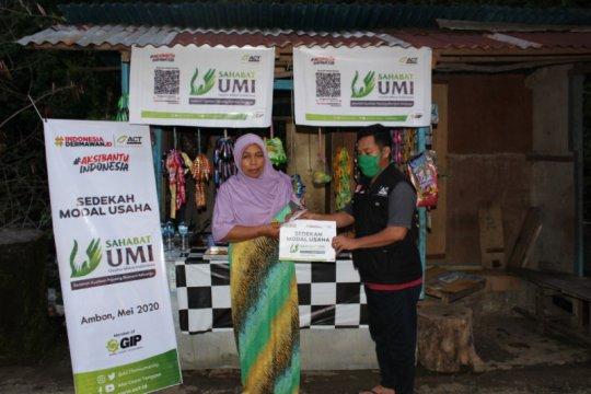"""Melalui """"Sahabat UMI"""", ACT Maluku bantu usaha kecil terdampak COVID-19"""