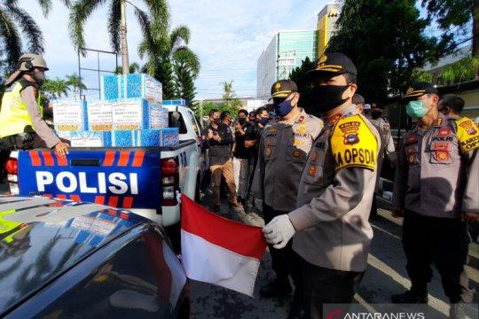 Kapolda Kalsel wajibkan kendaraan patroli kibarkan Merah Putih