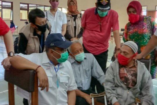 Proses penyaluran BST di Sleman-Yogyakarta dipantau Sekjen Kemensos