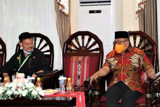 Mentan sebut diperlukan ekstenfisikasi pertanian di Pulau Seram