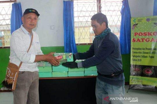 PPP sumbang 1.000 masker untuk Tolikara